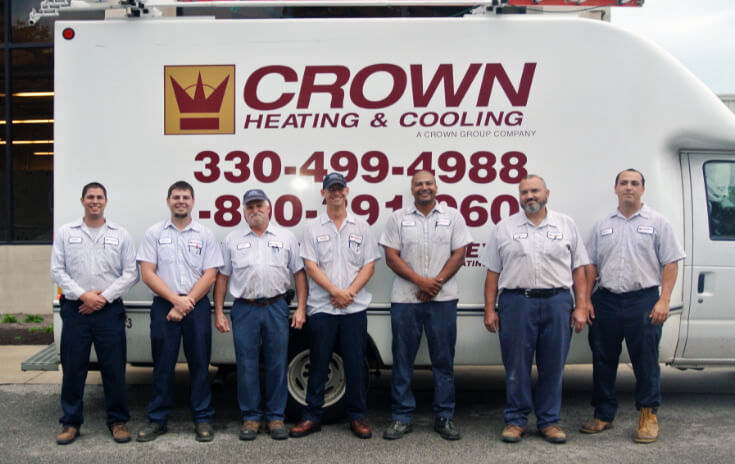Image of the Crown Service Team