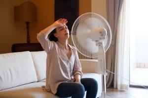 overheated-woman